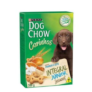 Dog Chow Biscoito Integgral Frango Junior 300 gr
