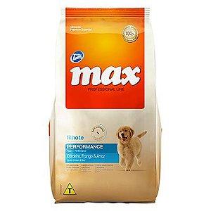 Max Cães Professional Line Filhotes Frango e Arroz