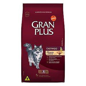 Granplus Gato Castrado Frango e Arroz 10,1 Kg (Embalagens Individualizadas)