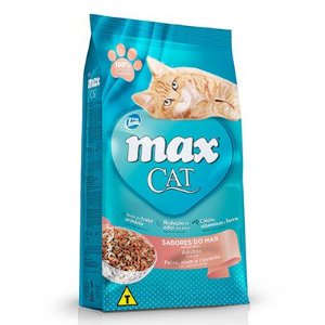 Max Cat Sabores do Mar Adulto
