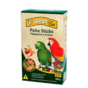 Alcon Club Psita Sticks 650 g Papagaios e Araras