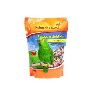 Reino das Aves - Papagaio Gold Mix 500 g