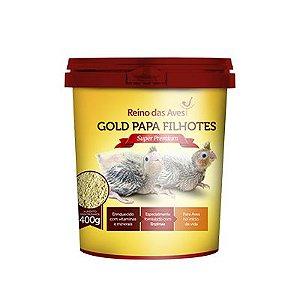Reino das Aves - Gold Papa Filhote 400 g