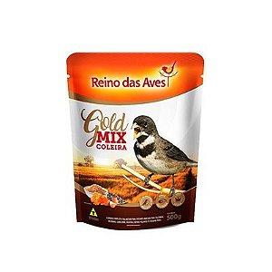 Reino das Aves - Coleira Gold Mix 500 g