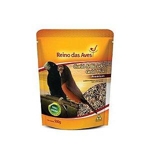Reino das Aves - Curio e Bicudo Gold Mix 500 g