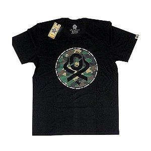 Camiseta Estampada Preta Ref. 1217 - Ox Horns