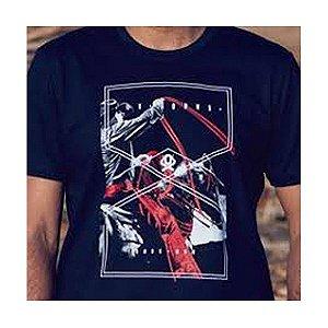 Camiseta Estampada Preta Ref. 1252 - Ox Horns