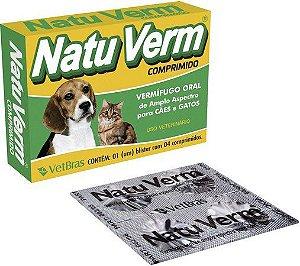 Natu Verm c/ 4 Comprimidos