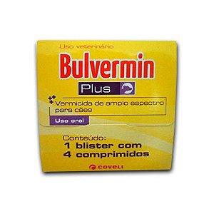 Bulvermin Plus Caixa C/ 4 Comprimidos