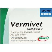 Vermivet Composto 600 MG