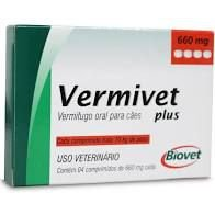 Vermivet Plus 660 MG