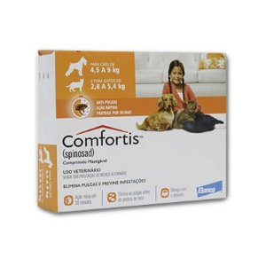 Comfortis Tablete 270 MG (4,5 - 9 Kg) Caixa