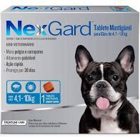 Nexgard Cães de 04,1 A 10 kg 28,3 MG