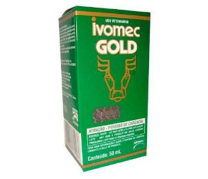 Ivomec Gold Injetável 50 ML