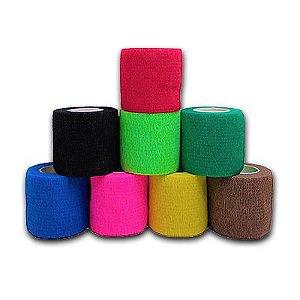Bandagem Adesiva FlexÍvel 5 X 4,5 Cm Cores Diversas - Hoppner