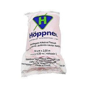 Bandagem Adesiva FlexÍvel 10 X 4,5 Cm Marrom - Hoppner