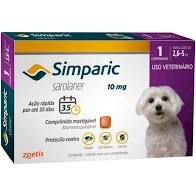 Simparic 1 Comp  10 MG (2,5 Kg - 5,0 Kg)