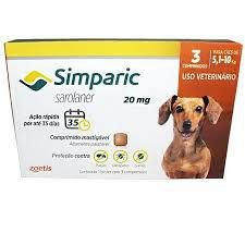 Simparic 3 Comp 20 MG (5,1 Kg - 10 Kg)