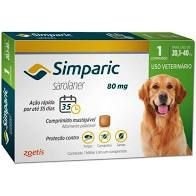 Simparic 1 Comp  80 MG (20,1 Kg - 40 Kg)