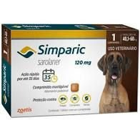 Simparic 1 Comp 120 MG (40,1 Kg - 60 Kg)
