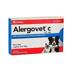 Alergovet C 0,7 MG 10 Comprimidos
