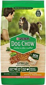 Dog Chow Pet Filhote Raças Pequenas Carne