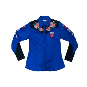 Camisete ML 7119 Arena Flowers Ref. 25003 - Azul