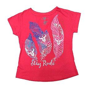 T-Shirt Fem Gola V Mod. 006 - Stayrude