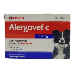 Alergovet C 1,4 MG 10 Comprimidos