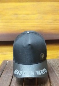 BONÉ TRUCKER PRETO B1454 - MADE IN MATO
