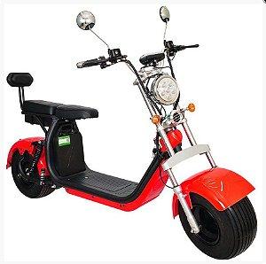 Chopper Scooter Elétrica 1500w - Vermelho