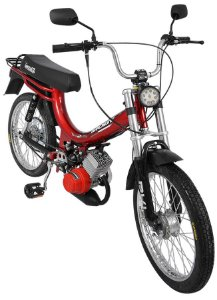 Mobilete 2 Tempos 40cc Bikelete - Vermelho