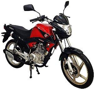 Moto Jonny Quick 150cc 0Km Vermelho