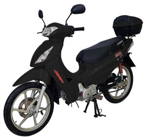 Moto Jonny Hype 125cc 0Km - Preta