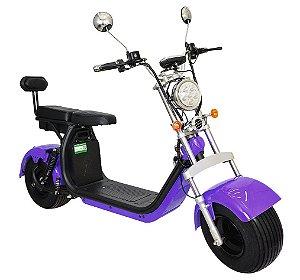 Chopper Scooter Elétrica 1500w - Roxa