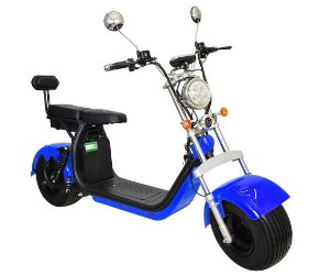 Chopper Scooter Elétrica 1500w - Azul