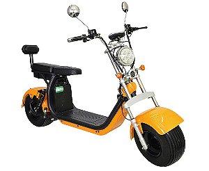 Chopper Scooter Elétrica 1500w - Dourada