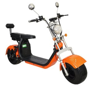 Chopper Scooter Elétrica 1500w - Laranja