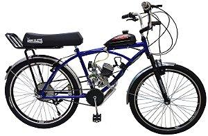 Bicicleta Motorizada Bikelete Caiçara XR Motor 80cc - Azul