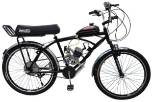 Bicicleta Motorizada Bikelete Caiçara XR Motor 80cc - Preta