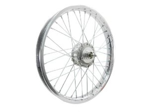 Roda Aro 17 Dianteira Mobilete Bikelete Monark Caloi