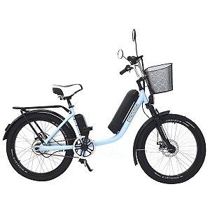 Bicicleta Elétrica Sonny 350w Bikelete com Bateria de Lítio - Azul