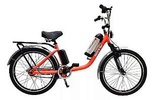 Bicicleta Elétrica Sonny 350w Bikelete com Bateria de Lítio - Laranja