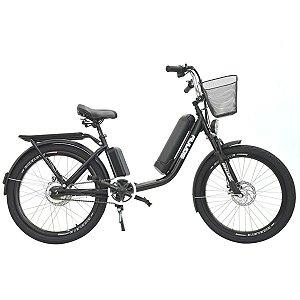 Bicicleta Elétrica Sonny 350w Bikelete com Bateria de Lítio - Preto