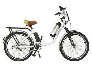 Bicicleta Elétrica Sonny 350w Bikelete com Bateria de Lítio - Branco