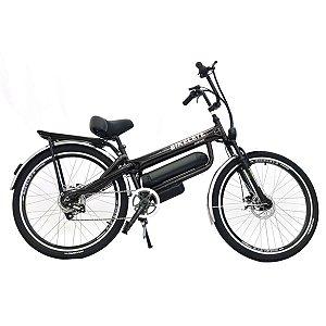 Bicicleta Bikelete Elétrica 350w Bateria De Lítio 12Ah - Preto