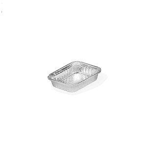 Marmitex Aluminio Bandeja 2 Litros 100 Un Thermoprat 0134
