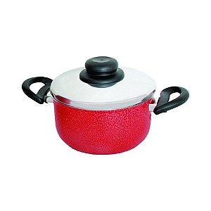 Cacarola Panela vermelha N. 24 4,85 Litros Arary 0068
