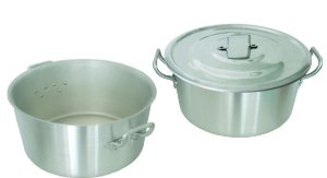 cacarola industrial tampa n. 38 18,5 litros arary 0884