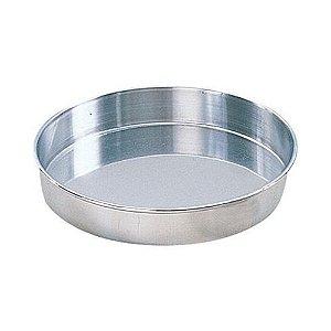 Forma Aluminio Redonda Fundo Fixo 35 x 10 Em 0712 Gallizzi